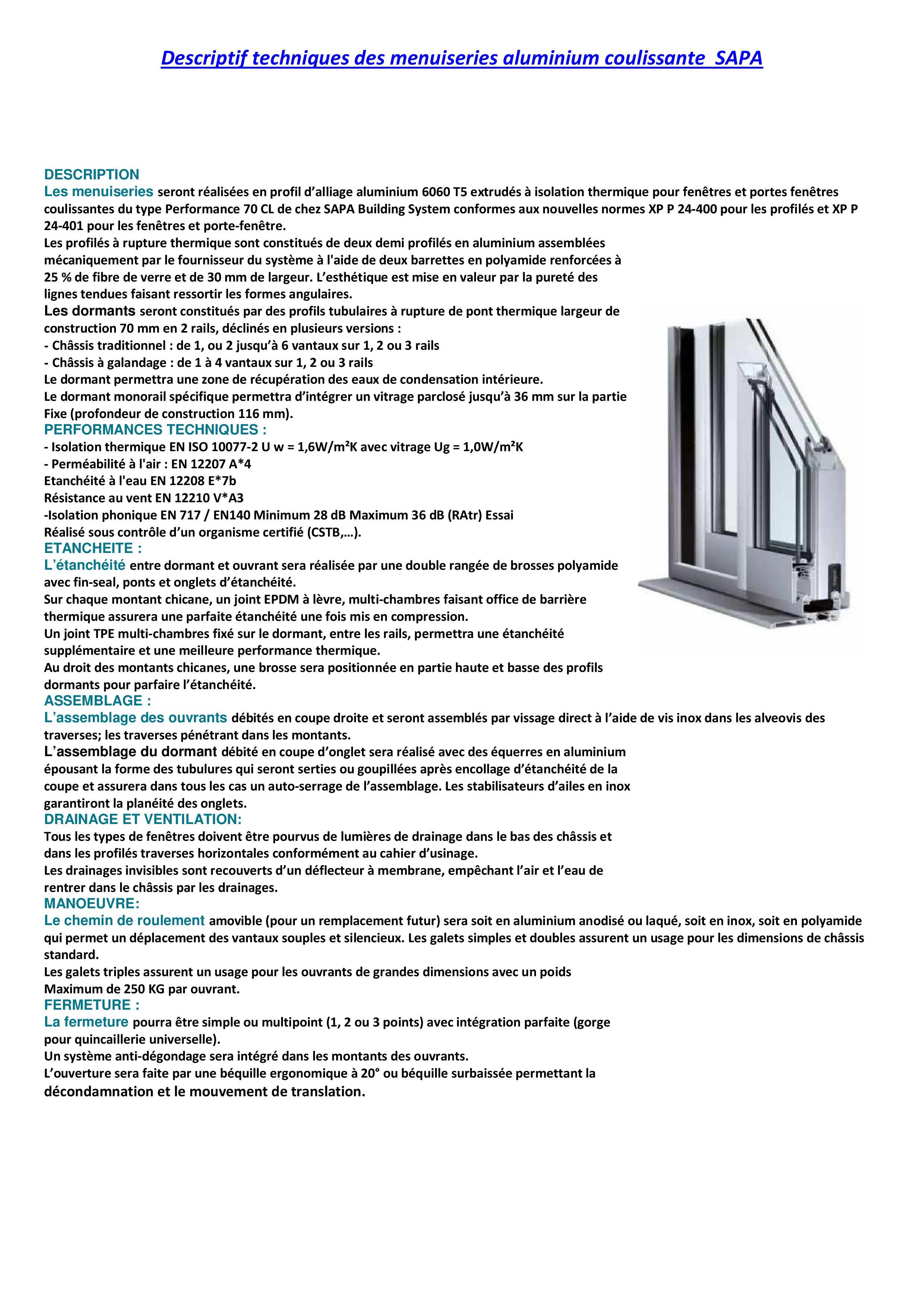 Descriptif techniques des menuiseries aluminium coulissante SAPALOGIC-page-001