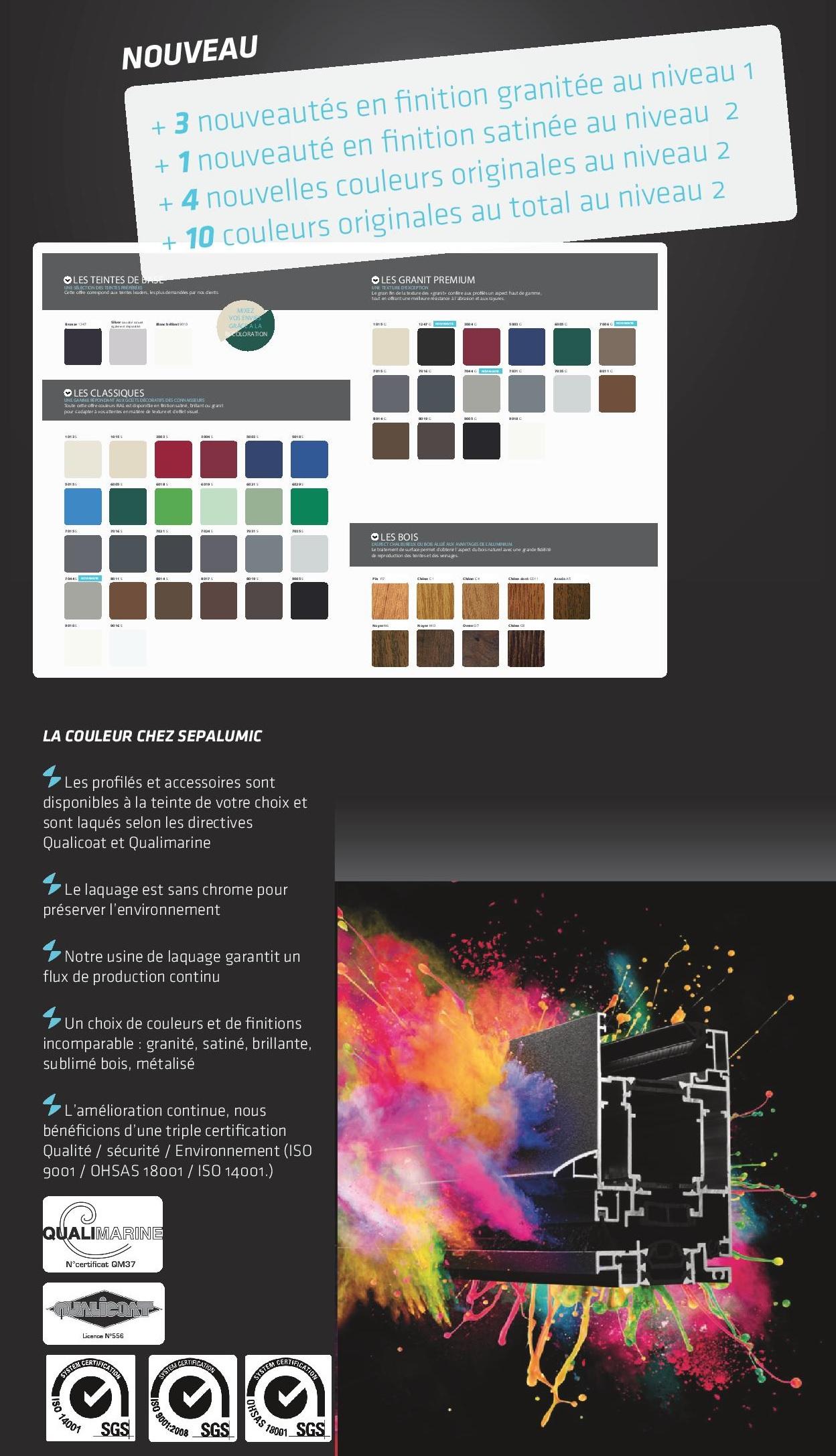 couleur ALU pour site