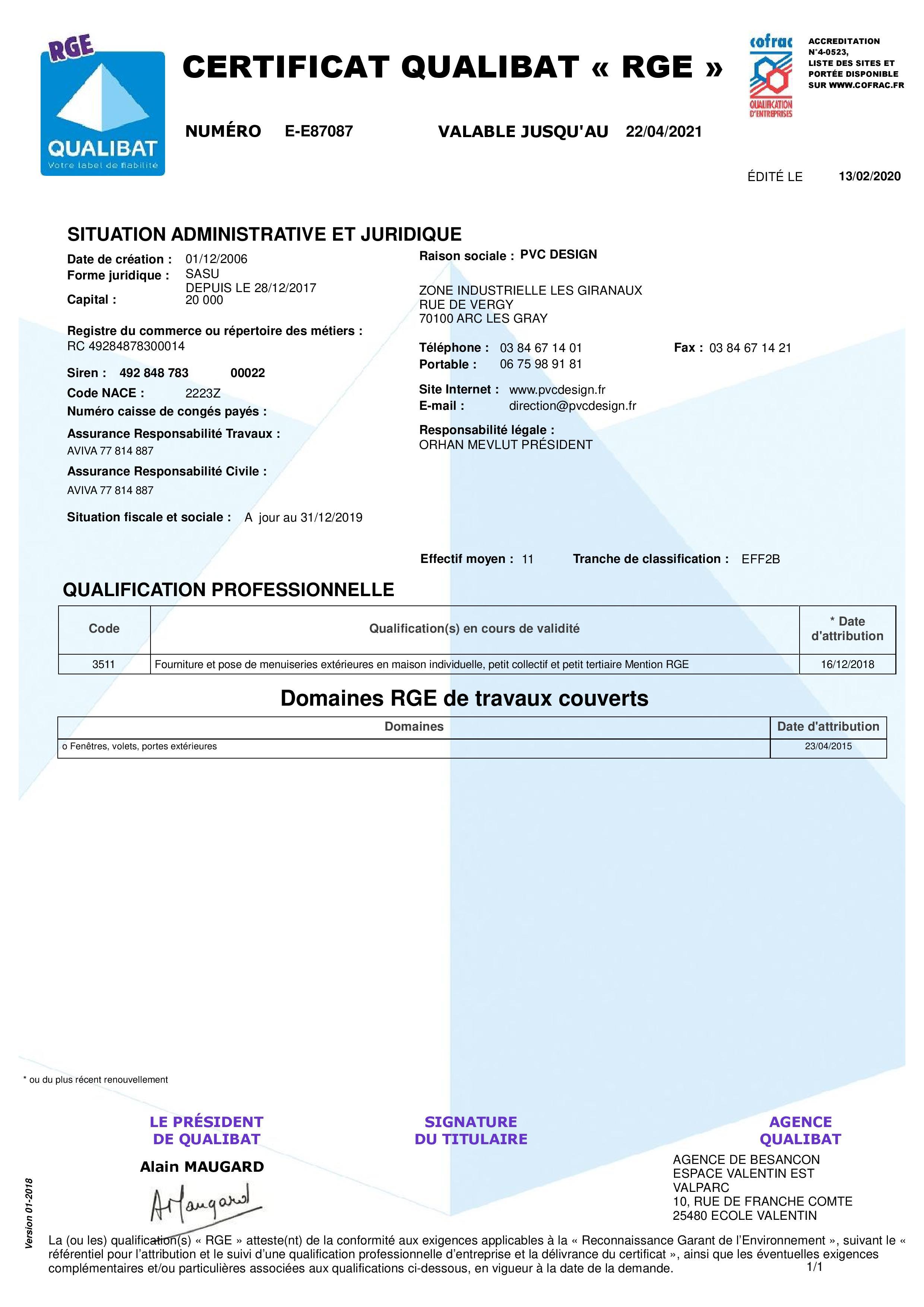D25-Certificat-87087-PVC DESIGN-E87087-1-20200213-page-002